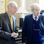 Lionel Stoléru et Robert Badinter