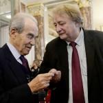 Robert Badinter et François Korber